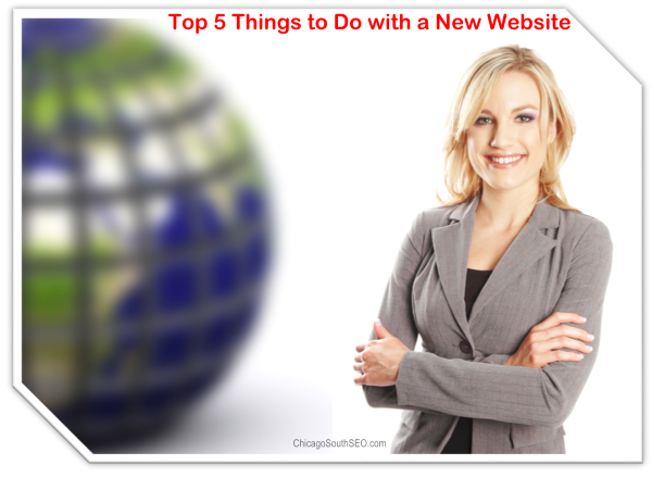 What to do with New website