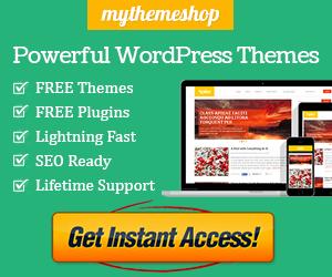 MyThemeShop Banner