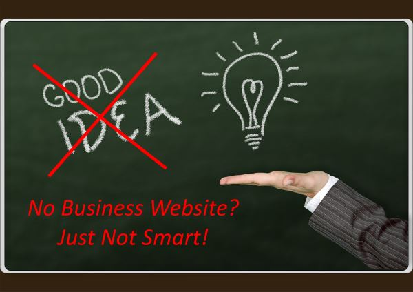 Not Having a Website is Just Not Smart
